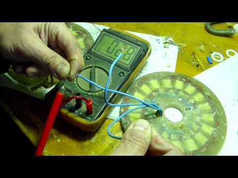 Что лучше 3 к 2, или 3 к 4 Тест статора аксиального генератора
