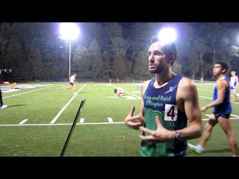Anthony Famiglietti Interview after 2012 Duke Twilight Steeplchase
