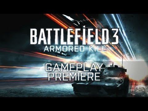 Battlefield 3: Armored Kill (2012) HDRip | Gameplay video