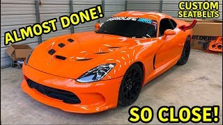 "Rebuilding A Wrecked 2014 Dodge Viper TA ""TIME ATTACK"" PART 19"