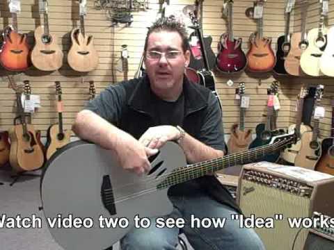 Ovation Idea Guitar Part 1