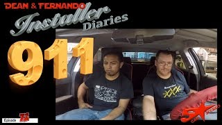 911 Rescue in a Chevy Cruze  Installer Diaries 72