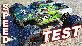 Arrma NERO Speed Test - How Fast Is It?  TheRcSaylors