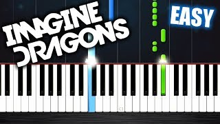 Download Lagu Imagine Dragons - Whatever It Takes - EASY Piano Tutorial by PlutaX Gratis STAFABAND