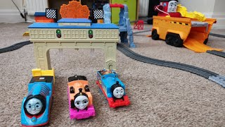 Thomas and Friends races with 2019 trackmaster sets. Big World Big Adventure
