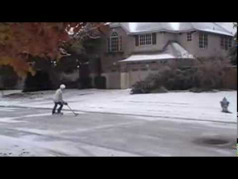 I live in McKinney, Texas, which as u may not know does NOT SNOW OR FREEZE ENOUGH FOR AN ODR!! So I took advantage and skated when it did freeze!! ENJOY!!