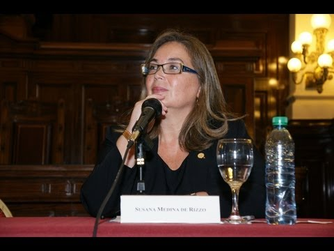 III Jornada sobre Periodismo y G�nero: Susana Medina de Rizzo