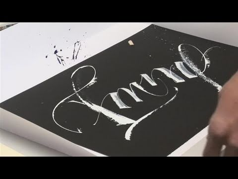 How To Do Modern Calligraphy
