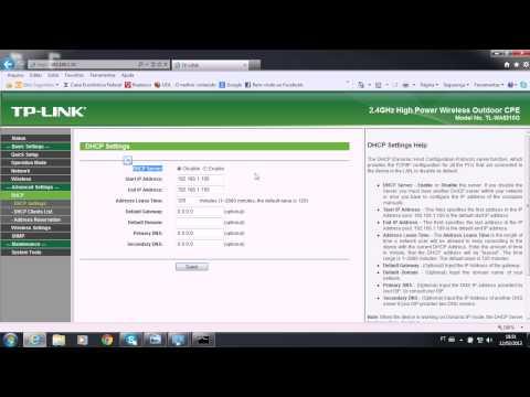 TP-Link 2.4Ghz TL-WA5210G Modo AP #Parte 1