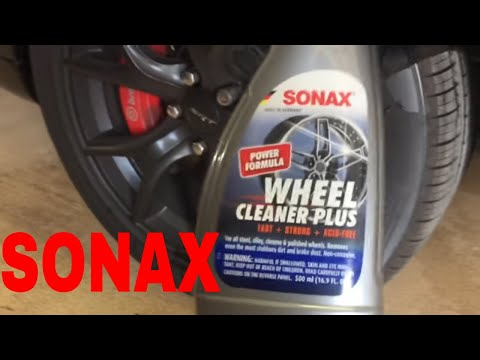 A Powerful Wheel Cleaner For All Wheels!! Sonax Wheel Cleaner Plus!! 30% Stronger!!
