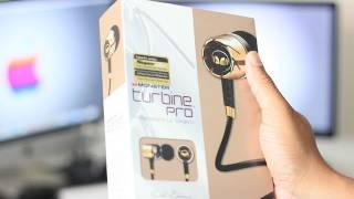 Unboxing: Monster Turbine In-ear Speakers (Gold Edition)