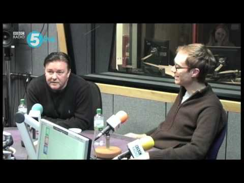Ricky Gervais and Stephen Merchant on 5 live