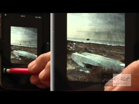 iPhone Photography Texture Blending tutorial with Tony Sweet