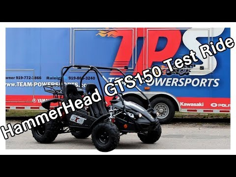 HammerHead GTS 150 Test Ride/Review