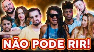NÃO PODE RIR! com Away, Eros Prado, Yuri Marçal e Sil Esteves