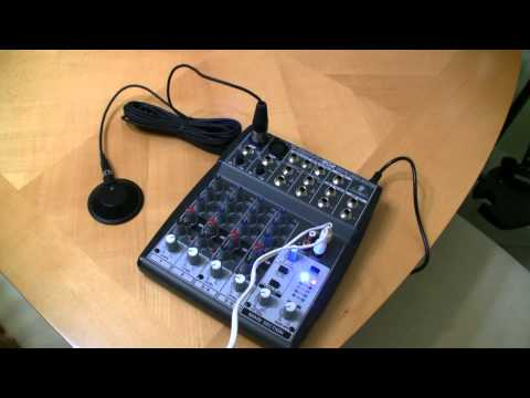 Behringer XENYX 802 product review and gear update