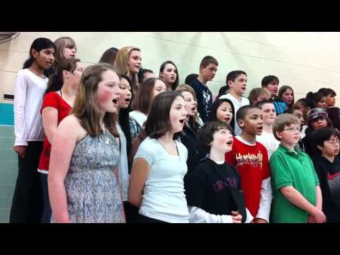 """""""Can You Hear?"""" Performance at Spring Harbor Middle School's Heritage Night"""