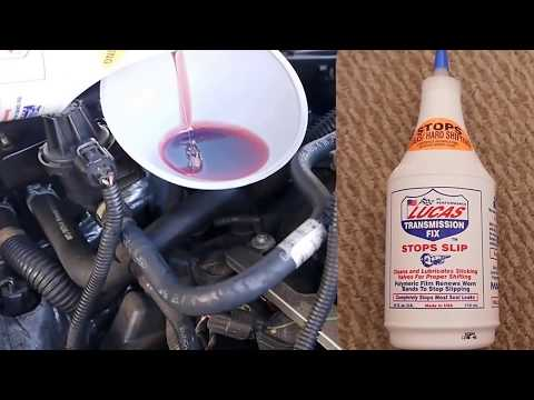 Lucas Transmission Fix - I found out myself it works great in my car