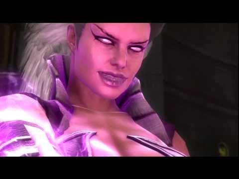 Mortal Kombat 9 - Sindel Kicks Butt HD