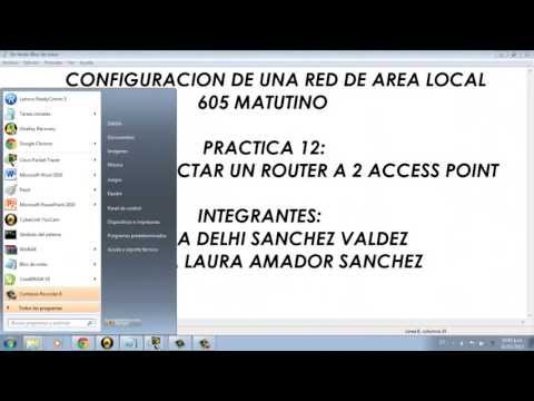 Como configurar un router y un access point en cisco packet tracer