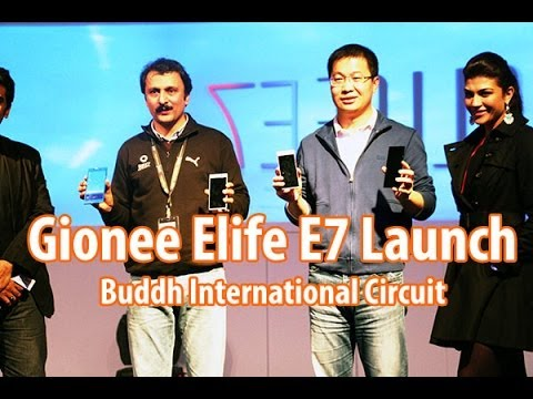 Gionee announces the launch of its flagship ELIFE E7 smartphone in India.