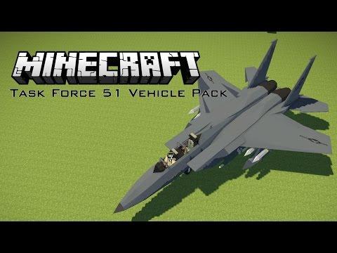 Minecraft Task Force 51 Pack - Flans Mod 1.7.10
