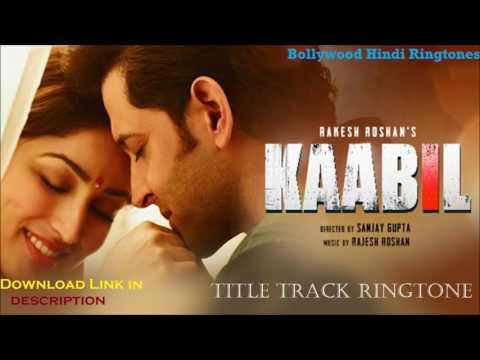 Kaabil Hoon (Female) Ringtone | Kaabil (Title Track) - Palak Muchhal| Latest 2017 Hindi Ringtone