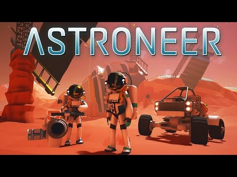 ASTRONEER Gameplay Part 1 - This Game is AMAZING - Astroneer Pre Alpha