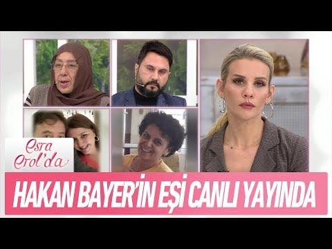 Hakan Bayer'in eşi canlı yayında - Esra Erol'da 25 Ocak 2018