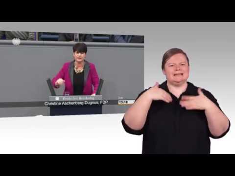 Gebärdensprachvideo: Vereinbarte Debatte zu Organspenden