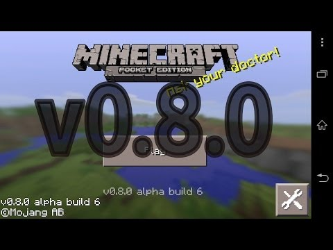 Minecraft Pocket Edition v0.8.0 alpha build 6