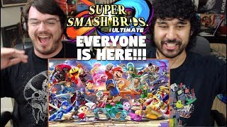SUPER SMASH BROS. ULTIMATE - Everyone Is Here TRAILER (E3 2018) REACTION!!!