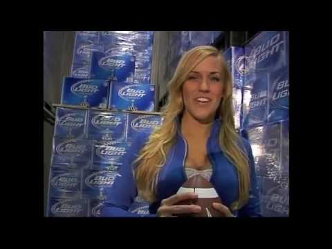 Wendy Haskell Bud Light Hotel Super Bowl Correspondent