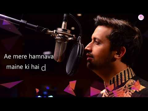 Atif Aslam  Teri ankho ke jhalak   latest hindi song 2018  video songNEW SONG 2018