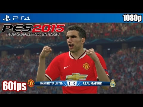 PES 2015 (PS4) - Manchester United vs Real Madrid (60fps) [1080p] TRUE-HD QUALITY
