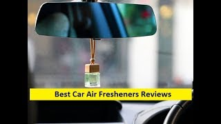 Top 3 Best Car Air Fresheners Reviews in 2019