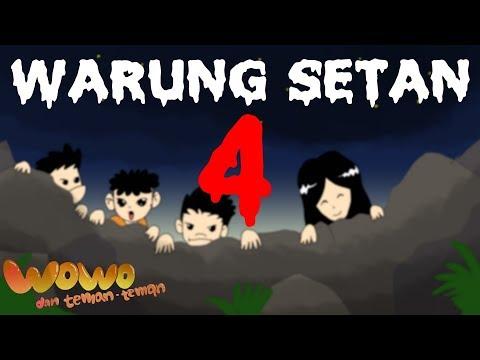 Kartun Lucu - Mitos Sate Gagak - Warung Setan - Kartun Horor Hantu Indonesia