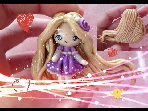 Clay Tutorial: Rapunzel from