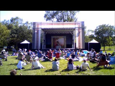 Time lapse Video of Chicago Shakespeare in the Parks