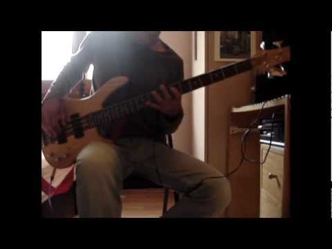 foo fighters - rope (bass cover)