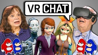 ELDERS REACT TO VRCHAT