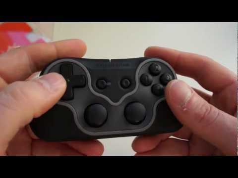 SteelSeries Free Game Pad Unboxing & Review