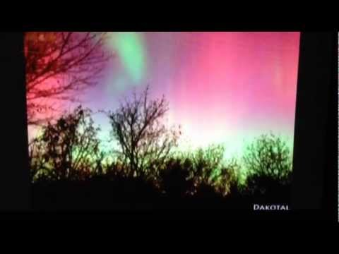 Mark Freeman 408 on CTV News with Northern Lights Time-lapse Video Oct 24 / 25 2011