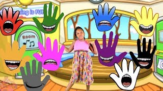 FINGER FAMILY COLORS NURSEY RHYMES SONG