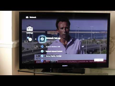 Sony Bravia Tv - Set Up And Quick Guide video