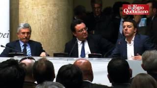 """Ue, Renzi: """"D'Alema candidato? Il Pd sceglierà le candidature più forti"""""""