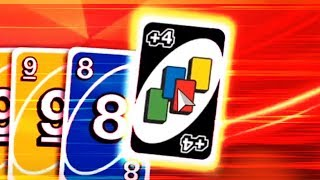My friend's first time playing UNO...