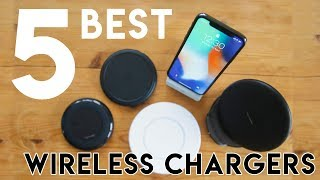 5 Best Wireless Chargers iPhone X 2018 (7.5w Fast Charging)