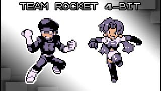 Pokemon Red, Blue and Yellow - Battle! Team Rocket Music [4bit]