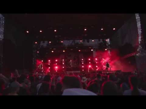 Asking Alexandria - Denis Shaforostov (new singer) live @ Rock for People 2015